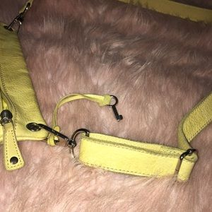 Fossil Bags - 🔑Fossil ~ Yellow Leather Crossbody